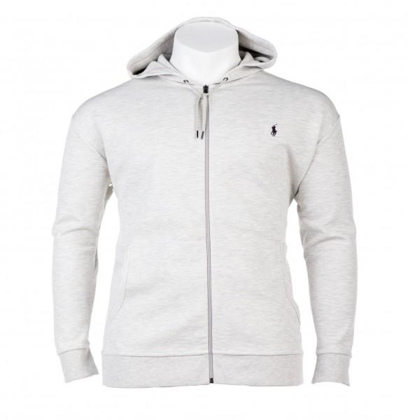 Zipp-Weste Sweater Kapuze