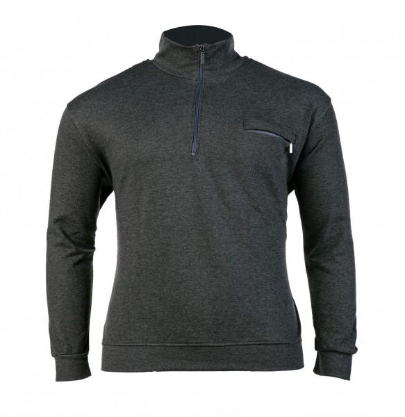 Troyersweater mit Bund