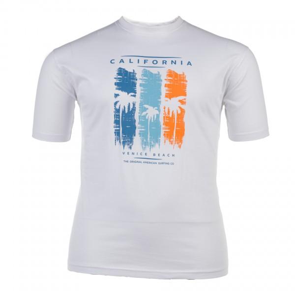 Rundhals-T-Shirt ohne Arm Jersey Basic