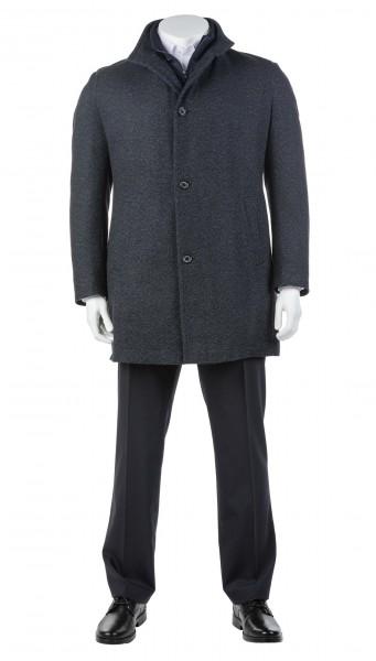 Mantel Schurwolle einreihig
