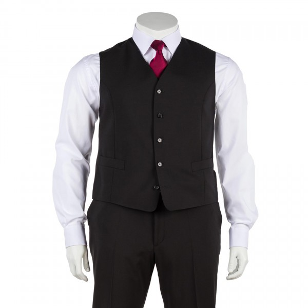 Anzug-Weste Einreihig Von DIGEL - In Übergrößen