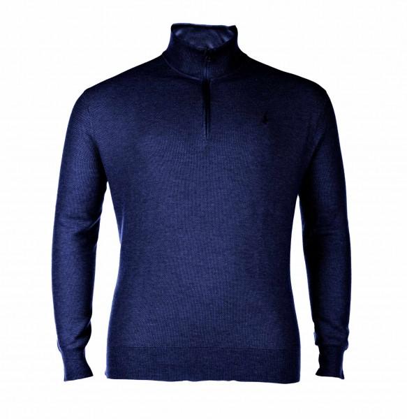 Pullover mit Tryoer Kragen