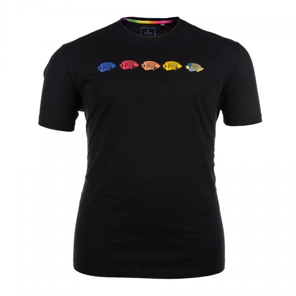 Rundhals-T-Shirt kurzarm Jersey