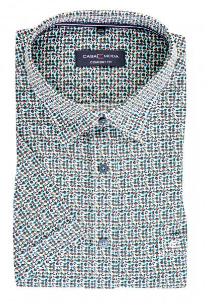 Hemd bedruckt kurzarm