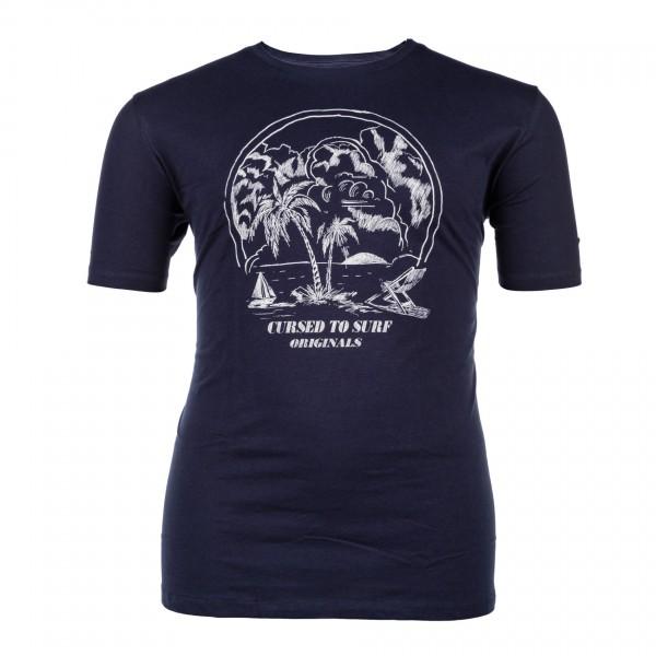 Rundhals T-Shirt kurzarm