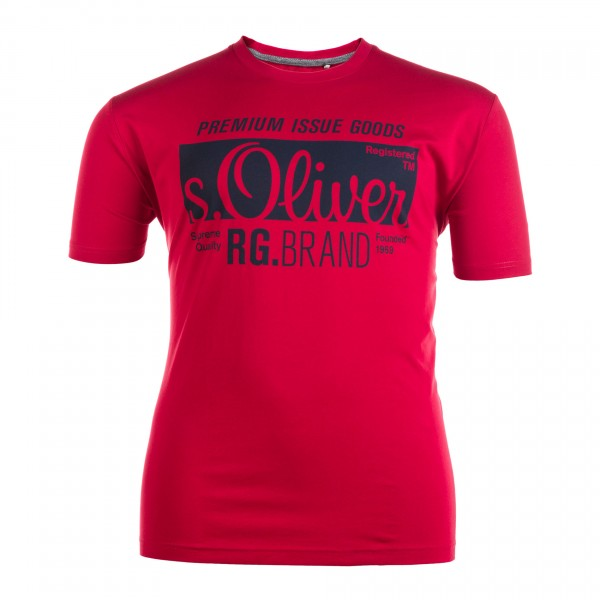 Rundhals T-Shirt kurzarm Jersey Basic
