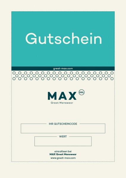 MAX Gutschein Geschenk