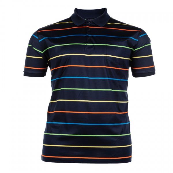 Polo-Shirt mit Knopfleiste kurzarm