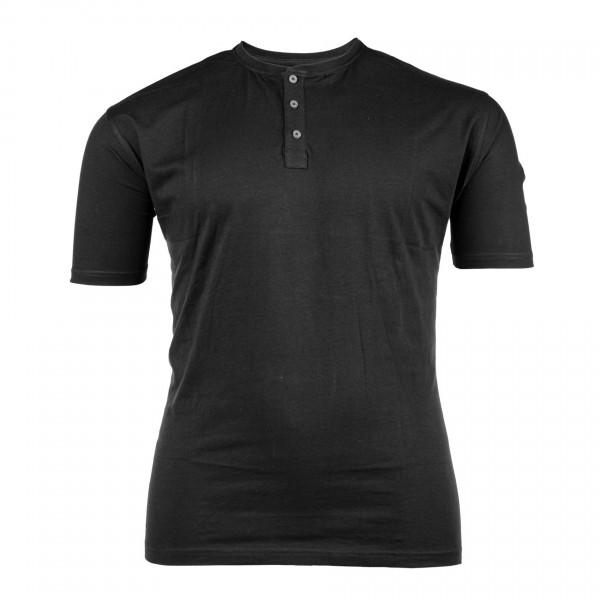 T-Shirt Serafino kurzarm Jersey