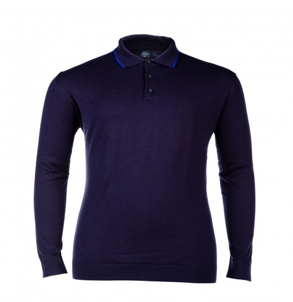 Pullover Knopf modisch