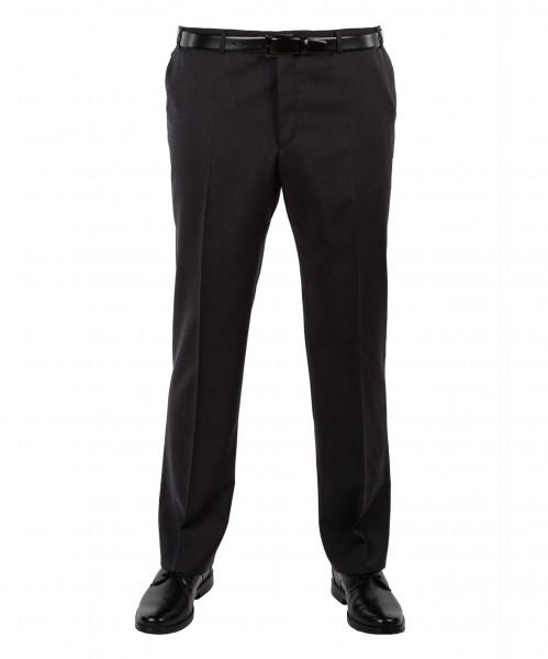 Anzug Hose Flat-Front in marine, anthrazit, grau, blau und schwarz