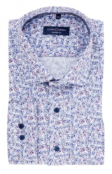 Hemd bedruckt langarm 65cm