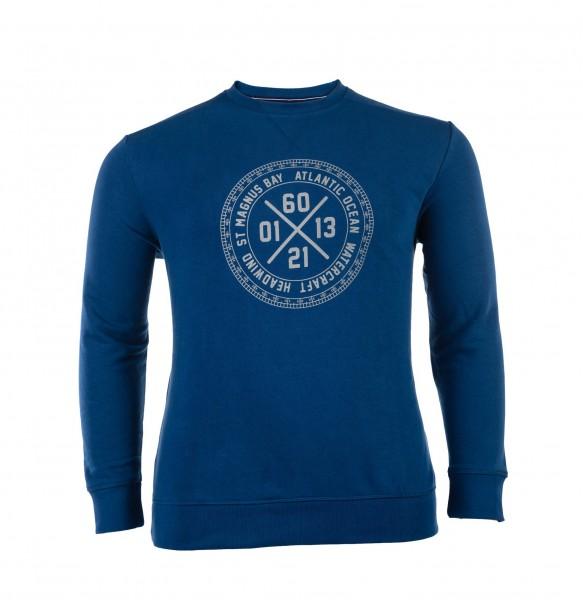 Sweater mit Rundhals Bund