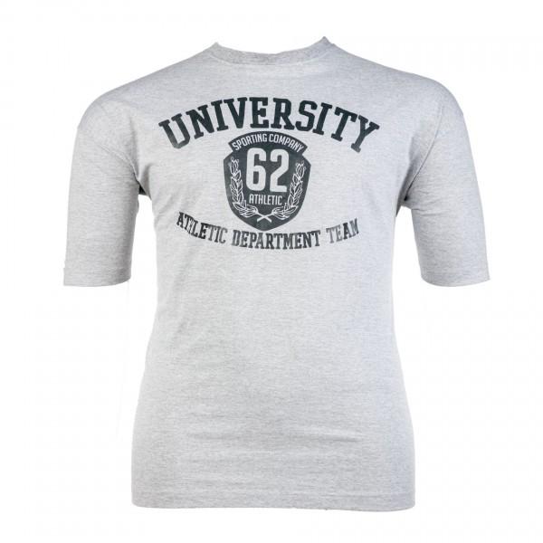 Rundhals-T-Shirt kurzarm