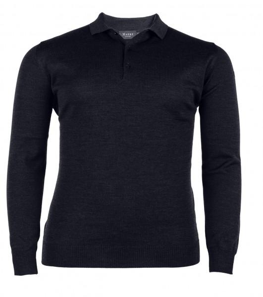 Pullover Knopfleiste Basic
